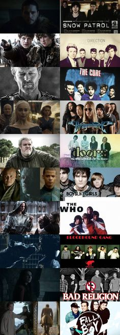 Game of Thrones Characters' Favorite Bands Join the World of GoT at…