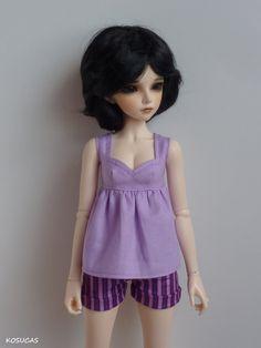 Outfit for Minifee dolls. por Kosucas en Etsy