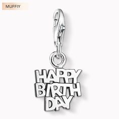 >> Click to Buy << Happy Birthday Charm,Thomas Style Muffiy Club Good Jewelry For Women,2017 Ts Gift In Silver Fit Bracelet,Super Deals #Affiliate