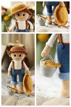 Amigurumi Wendesday Addams Free Pattern Amigurumi Doll, Amigurumi Patterns, Crochet Patterns, Free Crochet, Crochet Hats, Crochet Needles, Hello Dear, Chain Stitch, Single Crochet