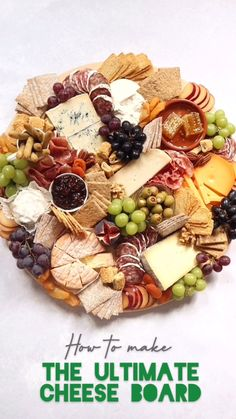 charcuterie board How to make THE best Cheese board! This platter is perfect for Christmas. got in touch and asked me if Id like to try out some of the new No. Plateau Charcuterie, Charcuterie And Cheese Board, Charcuterie Platter, Cheese Boards, Cheese Board Display, Charcuterie Display, Party Food Platters, Cheese Platters, Cheese Table