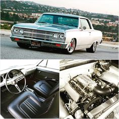 770-Horsepower 1965 Chevrolet Chevelle SS ——————————- Fast facts Engine: 414 c.i. L92 based on the stock 10.7:1 short-block, increased stroke to 4.030 inches via a Scat crankshaft and connecting rods, stock camshaft, Comp rollers, Dart Pro1 CNC...