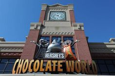 Hershey's Chocolate World, the most visited corporate welcome center in America, is the perfect attraction to visit for all #chocolate lovers. Visitors can take a tour of how chocolate is made, and also participate in the 4D experience, Hershey's Great Chocolate Factory Mystery.