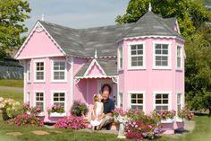 Sara's Victorian Mansion, speelhuis voor in de tuin | Royal Toys | Speelhuisjes, Skelters en Trampolines