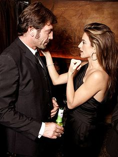 Javier Bardem and Penelope Cruz...and myself...a three-some I'd be more than ok with...