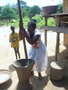 Liberia Meal Preparation http://www.dayoftheelephants.com