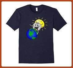 Mens Funny Total Solar Eclipse - August 21st, 2017 Tee Shirt Medium Navy - Funny shirts (*Partner-Link)