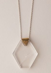 prism necklace by aesa