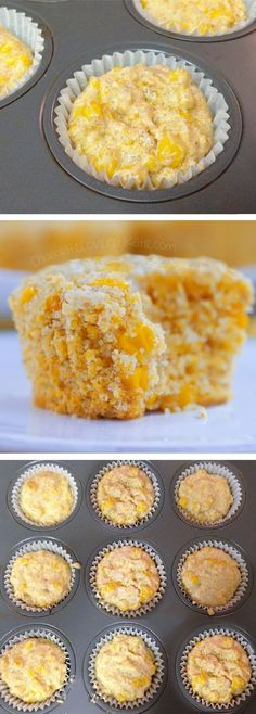 Healthy Corn Muffins - Ingredients: 1 cup corn, 1/2 cup milk of choice, 2 tsp vinegar, 1 1/2 cup... Full recipe: http://chocolatecoveredkatie.com/2015/06/22/healthy-corn-muffins/ @choccoveredkt