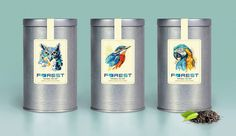 Forest Tea (Concept) on Packaging of the World - Creative Package Design Gallery