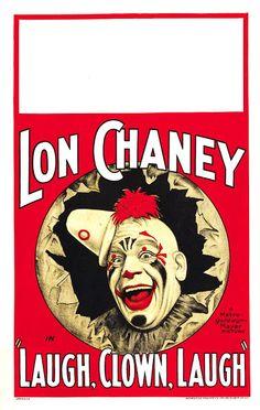 ART & ARTISTS: Film Posters 1913 - 1929 1928 Laugh, Clown, Laugh