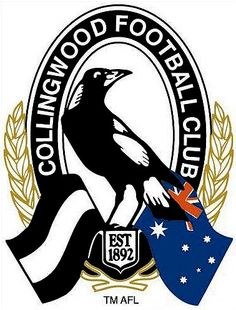 Collingwood Magpies AFL, the team we love to hate. Australian Football League, American Football League, Collingwood Football Club, West Coast Eagles, Sports Team Logos, Association Football, Netball, Logo Images, Magpie