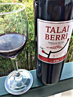 El Alma del Vino.: Talai Berri Txakolina Txakolin Beltza 2014.