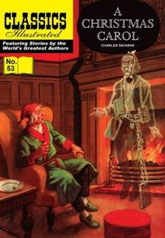 Classic Illustrated Comics in numeracle order | Christmas Carol - Classics Illustrated #53 (NOOK Comics with Zoom ...