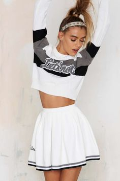 UNIF Squad Pleated Skirt   Shop Clothes at Nasty Gal!