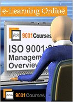 ISO 9001:2008 Management Overview | ISO 9001 Training through eLearning Online Courses | 9001Courses