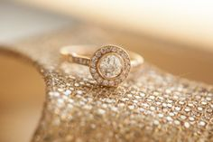 AHHHH! IT's GOLD!!! SO PERFECT! Rose Gold Engagement Ring I Brindamour Photography