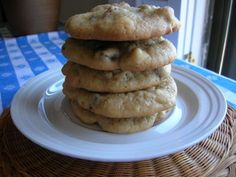 FAVORITE CHOCOLATE CHIP COOKIES  Posted on October 9, 2011 by The Southern Lady   These are the best ever chocolate chip cookies. They melt in your mouth and you can't stop eating them. The chocolately, nutty flavor will have you coming back for more. These won't last long!  2 sticks butter or margarine, softened (1 cup)  3/4 cup sugar  2 eggs  1 1/4 cups brown sugar  1 tablespoon vanilla flavoring  3 cups all-purpose flour  1/2 teaspoon salt  1 teaspoon baking soda  1 cup premier white…