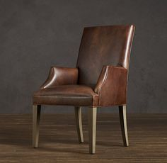 Leather Dining Chairs, Leather Armchairs, Restoration Hardware, Dining Room  Tables, Room Chairs, Side Chairs, Catalog, Keeping Room, Card Tables