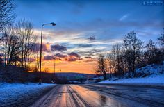 Road to good morning by Matthew Vavrek on 500px