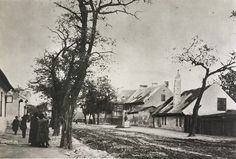 Záhradnícka pred 1900 Bratislava, Nostalgia, Times, Photography, Painting, Historia, History, Photograph, Fotografie