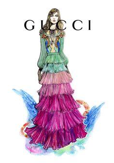 #Gucci fw16 #MLF #Graciano