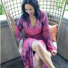 Like what you see⁉ Follow me on Pinterest ✨: @joyceejoseph ~ The Beautiful Ayesha Curry!!!