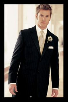 grey suit with champagne tie - Google Search
