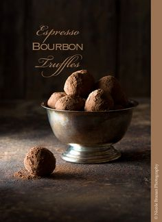 Espresso Bourbon Truffles | The Spice Train