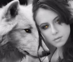 Kindred Souls..bound by beautiful eyes of amber....as they glow the light of love..