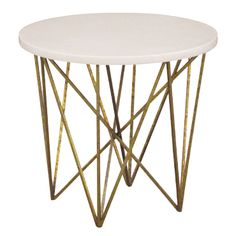 "smallGeometric Side Table, 24""Diameter x 20""H"