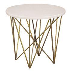 "smallGeometric Side Table, 24""Diameter x 20""H"