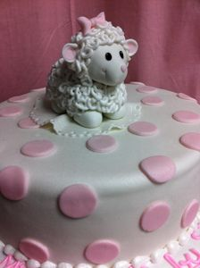 We deliver cakes. We can create a cake to celebrate all the milestones in your little one's first years; Cupcake Birthday Cake, First Birthday Cakes, Birthday Cake Girls, Cupcake Cakes, Birthday Ideas, Sheep Fondant, Sheep Cake, Cake Bake Shop, No Bake Cake