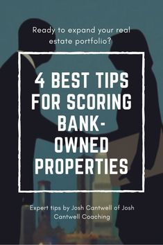 The 4 Best Tips for Scoring Bank-Owned Properties Bank-owned properties can be an incredible way to broaden your real estate portfolio… You deal directly with the bank and can often purchase properties at a heavy discount. Real Estate Business, Real Estate Investor, Real Estate Tips, Real Estate Marketing, Investing In Real Estate, Business Sales, Buying Investment Property, Rental Property, Income Property