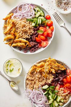 Middle Eastern Dishes, Middle Eastern Recipes, Farro Recipes, Cooking Recipes, Pizza Recipes, Dinner Recipes, Shawarma Recipe, Farro Bowl Recipe, Eat Healthy
