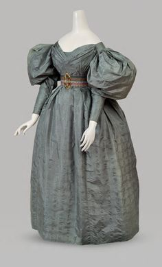 Dress, 1831-35From Cora Ginsburg