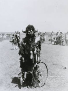 Spotted Eagle, Buffalo Medicine-man of the Sioux tribe
