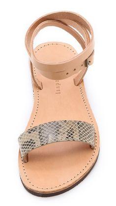 ankle wrap sandals $90
