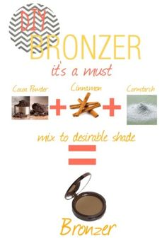 Diy bronzer : it's a must