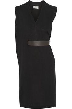 Maison Martin Margiela Belted wool and silk-blend dress €640