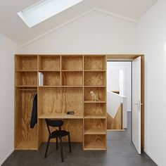 plywood built in furniture by big game thumb Plywood Created in Furnishings By Large Game Plywood Furniture, Built In Furniture, Modular Furniture, Ikea Furniture, Furniture Layout, Furniture Making, Furniture Makeover, Furniture Design, Wardrobe Furniture