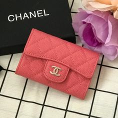 Chanel Classic Small Quilted Wallet Style code: Size: x x inches Unique Selling Proposition, Chanel Wallet, Small Quilts, Card Case, Continental Wallet, Classic, Clothes, Women Bags, Women's