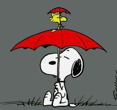 Springtime Snoopy & Woodstock