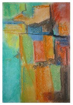 abstract pastel paintings - deb ammerman