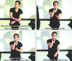 Not really stelena, but is he not just the most adorable person.