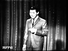 Live performance on Saturday Night Beech-Nut Show. February 13, 1960. ~ Paul Anka ~ Puppy Love..  Re-uploaded with corrected audio.