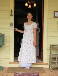 Tween Regency Gown | Sense & Sensibility Patterns