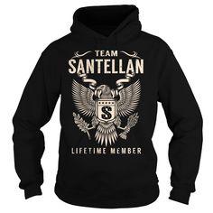 Team SANTELLAN Lifetime Member - Last Name, Surname T-Shirt