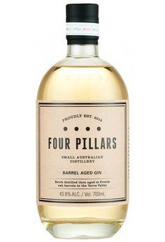"""Résultat de recherche d'images pour """"Four Pillars Barrel Gin Aged"""""""