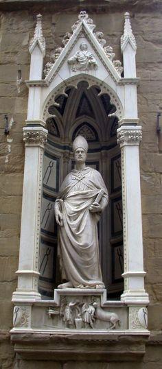 Церковь Орсанмикеле в Флоренции Altar, Catholic, Buddha, Greek, San, Statue, Architecture, Firenze, Toscana